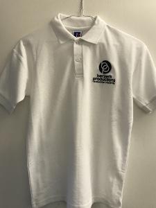 White T-Shirt with Berzerk Logo